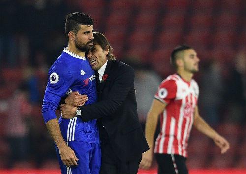 """Diego Costa: """"Cục nợ"""" của Mourinho, báu vật của Conte - 2"""