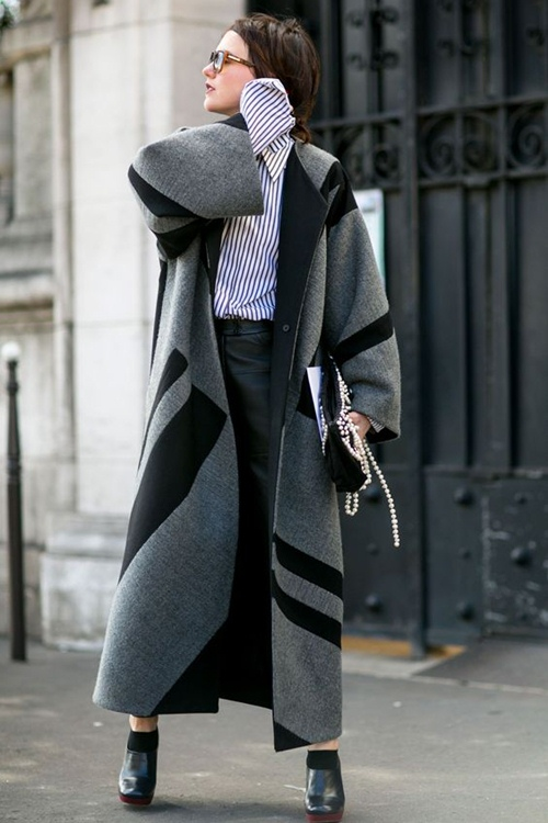 Bí quyết chinh phục những chiếc áo khoác to sụ - 11