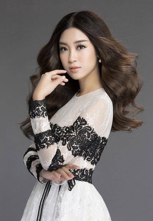 Mướt mắt ngắm HH Mỹ Linh thả dáng trong loạt váy ren hoa - 6