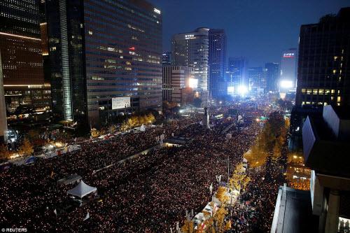 Ảnh: Triệu người biểu tình đòi tổng thống HQ từ chức - 5