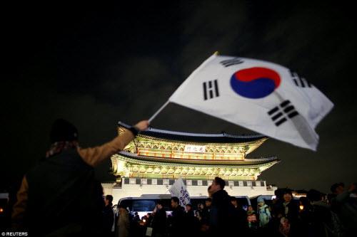 Ảnh: Triệu người biểu tình đòi tổng thống HQ từ chức - 8