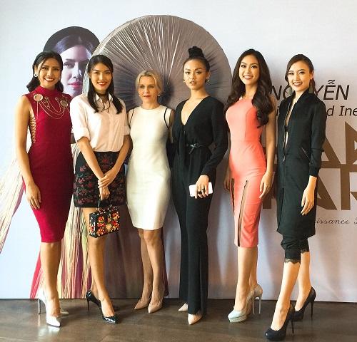 """Nguyễn Thị Loan lần đầu đọ sắc Quỳnh Mai """"siêu vòng 3"""" - 1"""