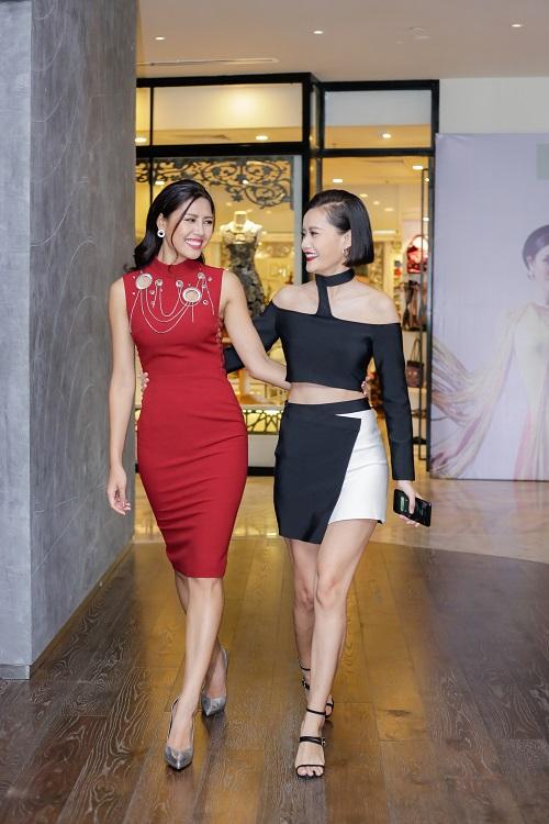 """Nguyễn Thị Loan lần đầu đọ sắc Quỳnh Mai """"siêu vòng 3"""" - 5"""