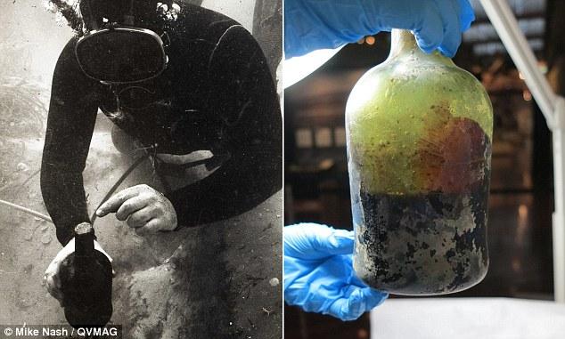 Úc: Vớt được chai bia hơn 200 năm tuổi vẫn thơm ngon - 1