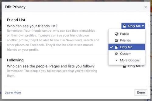 Cách ẩn danh sách bạn bè trên Facebook - 2