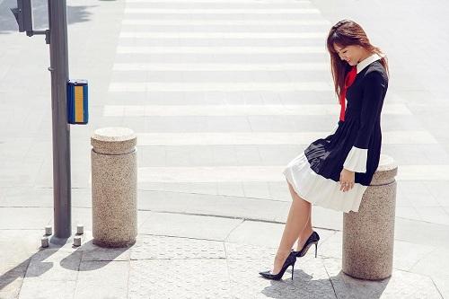 Hari Won vai trần đẹp mộng mơ trên phố - 10