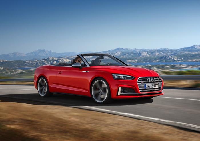 Audi RS5 Cabriolet 2018 lộ ảnh thiết kế cực đẹp - 4