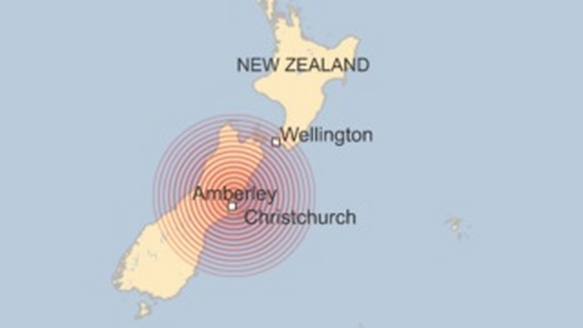 Sau động đất 7,8 độ, sóng thần tiến vào New Zealand - 1