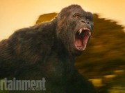 """Hé lộ diện mạo King Kong trong bom tấn """"Kong: Skull Island"""""""