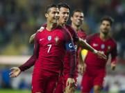 """Bóng đá - Bồ Đào Nha – Latvia: """"Quả bộc phá"""" Ronaldo"""