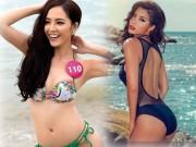 """Làm đẹp - Hình thể """"chuẩn từng cm"""" của 9 siêu mẫu Việt đình đám"""