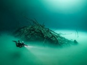 Du lịch - Khám phá hồ nước ngầm bí ẩn ở Mexico