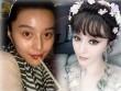 """Hot girl Trung Quốc """"tự bóc mẽ"""" nhan sắc không son phấn"""