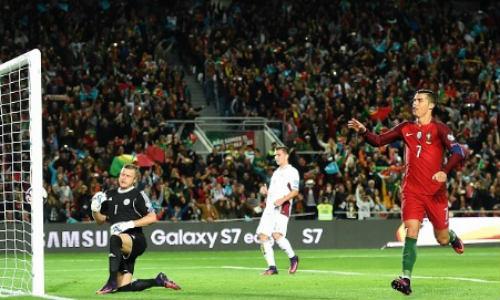 """Bồ Đào Nha - Latvia: Ronaldo và quả 11m """"mở khóa"""" - 1"""