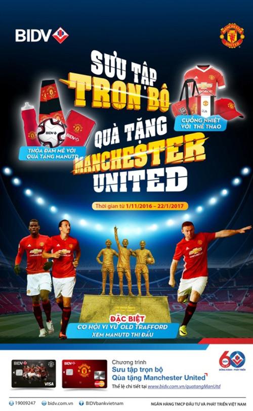 Sưu tập trọn bộ quà tặng Manchester United chính hãng - 1