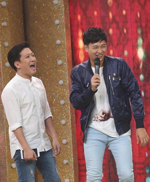 Ngô Kiến Huy ngượng chín mặt vì bị Trường Giang chê trên TV - 2