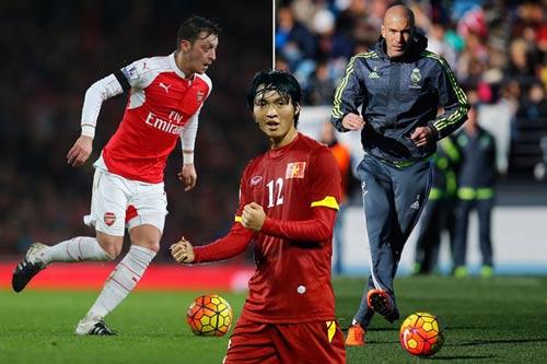 ĐTVN: Tuấn Anh nể phục Thái Lan, mơ trở thành Zidane - 1