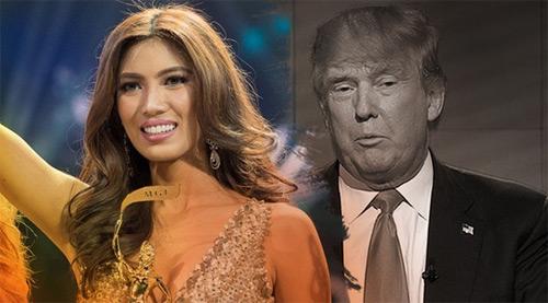 Nhan sắc gợi cảm của á hậu muốn làm việc cho ông Trump - 3