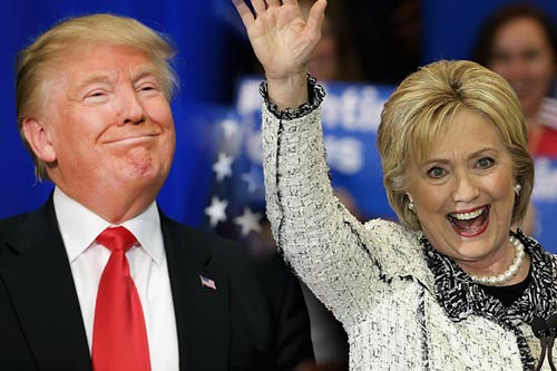 Người ủng hộ Clinton không công nhận Trump chiến thắng - 1