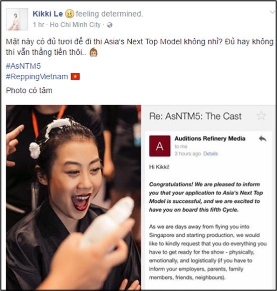 Lộ diện chân dài Việt dự thi Asia Next Top Model 2016 - 1