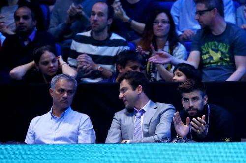 Tennis 24/7: Mourinho ngồi cạnh Pique xem ATP Finals - 2