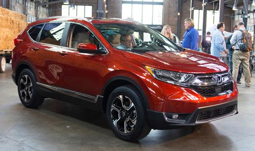 """Honda CR-V 2017: Êm hơn, lái """"sướng"""" hơn - 3"""