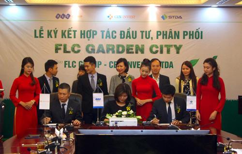 FLC GROUP, CENINVEST & STDA ký kết hợp tác đầu tư phân phối FLC Garden City - 2