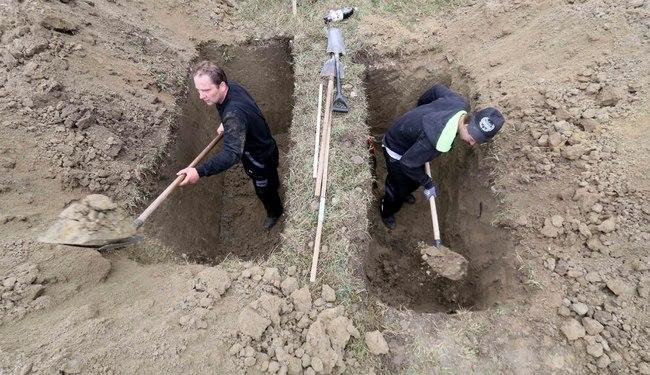 Cuộc thi tìm người đào mộ nhanh nhất châu Âu - 4