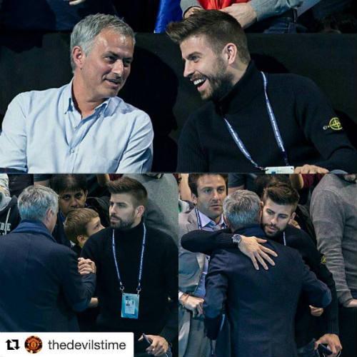 Tennis 24/7: Mourinho ngồi cạnh Pique xem ATP Finals - 3
