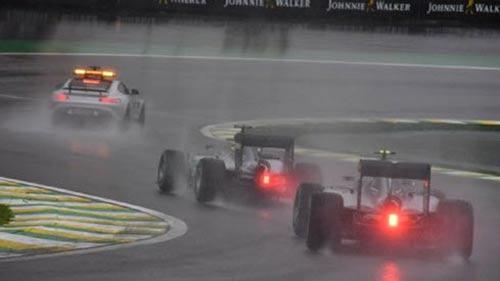 F1, Brazilian GP: Hiệp 1 của trận chung kết - 1