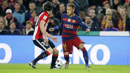 Rê bóng ở La Liga: Neymar số 1, đầy ắp SAO Atletico - 2