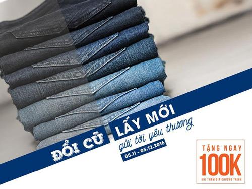 Khó tin: Bạn có thể đổi Jeans cũ lấy Jeans mới ở Hà Nội! - 7