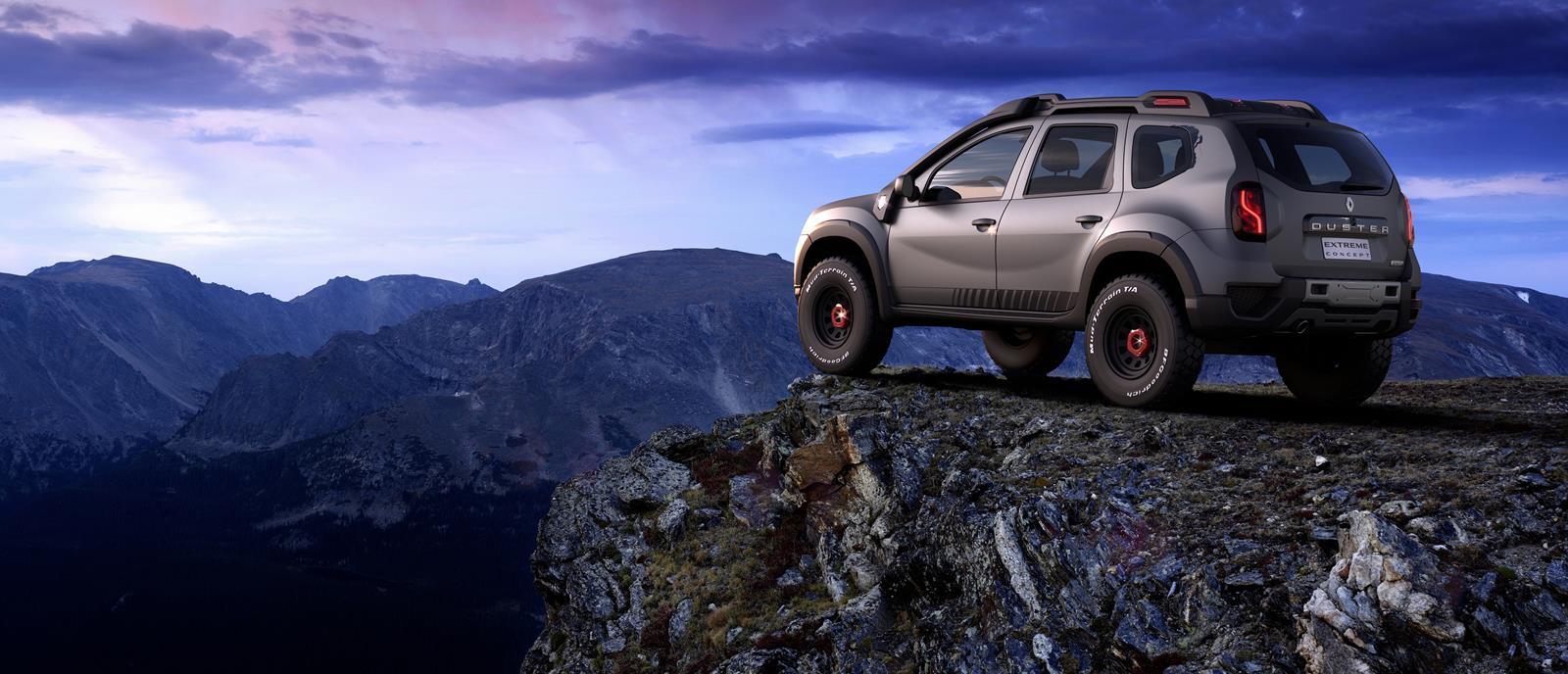 Renault trình làng Sandero RS Grand Prix và Duster Extreme Concept - 8