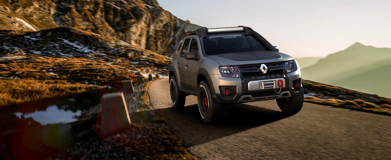 Renault trình làng Sandero RS Grand Prix và Duster Extreme Concept - 9