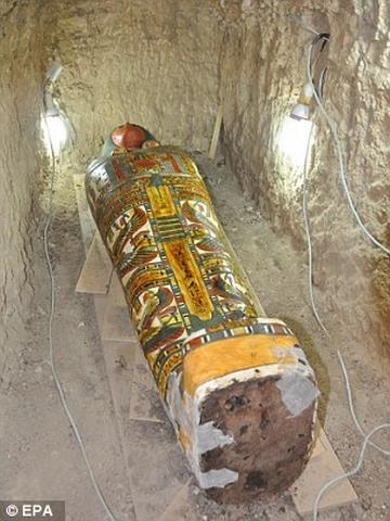 Tìm thấy xác ướp Ai Cập nghìn năm tuổi còn nguyên vẹn - 1