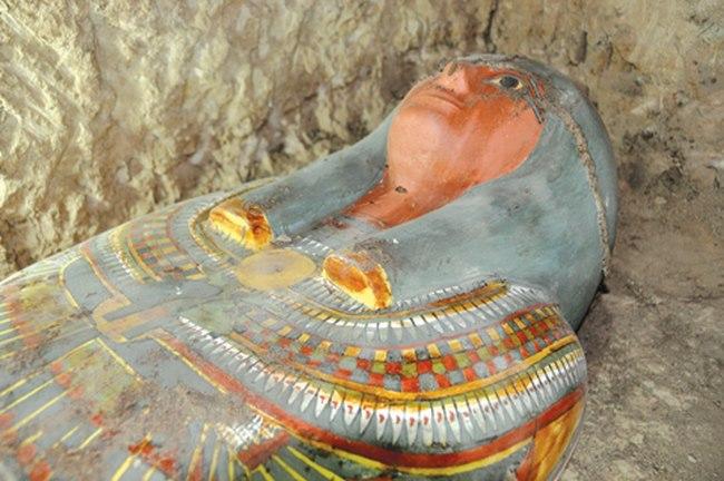 Tìm thấy xác ướp Ai Cập nghìn năm tuổi còn nguyên vẹn - 2