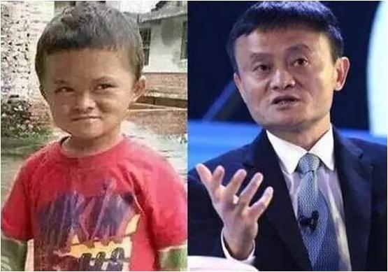 """TQ: Cậu bé được """"quý nhân phù trợ"""" vì quá giống Jack Ma - 1"""