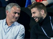 Thể thao - Tennis 24/7: Mourinho ngồi cạnh Pique xem ATP Finals