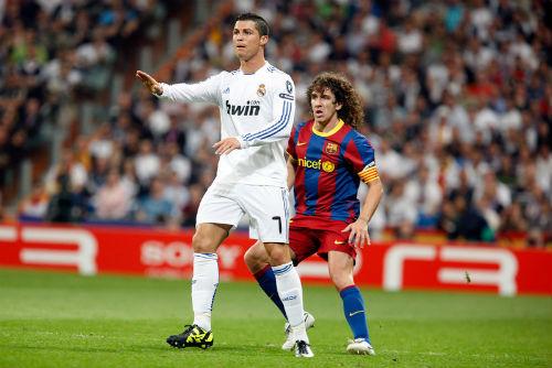 """""""Kình địch trong mơ"""" của Puyol: Ronaldo không có cửa - 2"""
