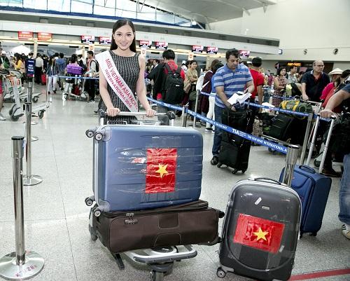 Thêm 1 mỹ nữ Việt tươi mơn mởn đi thi sắc đẹp quốc tế - 1