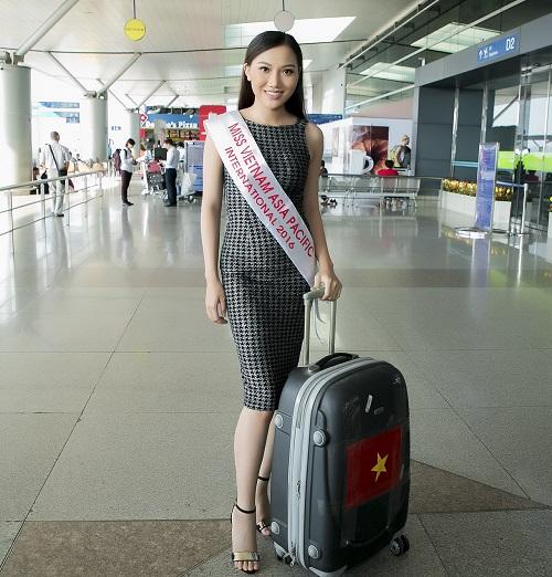 Thêm 1 mỹ nữ Việt tươi mơn mởn đi thi sắc đẹp quốc tế - 2