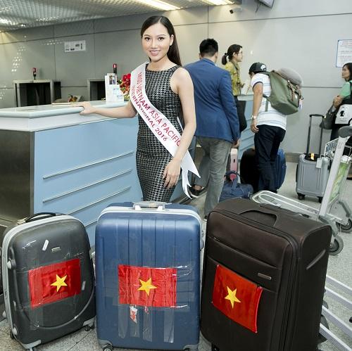 Thêm 1 mỹ nữ Việt tươi mơn mởn đi thi sắc đẹp quốc tế - 3