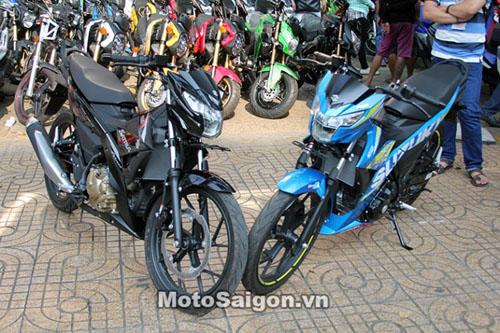 Satria F150 2016 giá 90 triệu đồng cập bến Việt Nam - 1