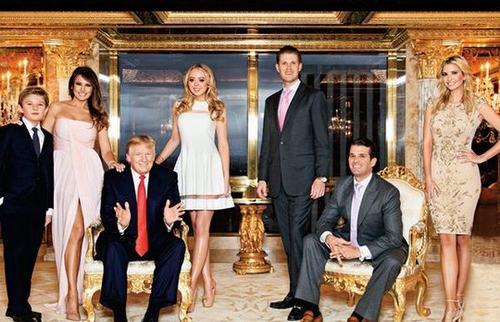 Donald Trump dạy con không hư hỏng dù sống nhung lụa - 1