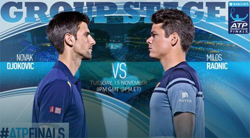 """Tennis, ATP Finals ngày 3: Djokovic đấu """"Máy bắn bóng"""" - 1"""