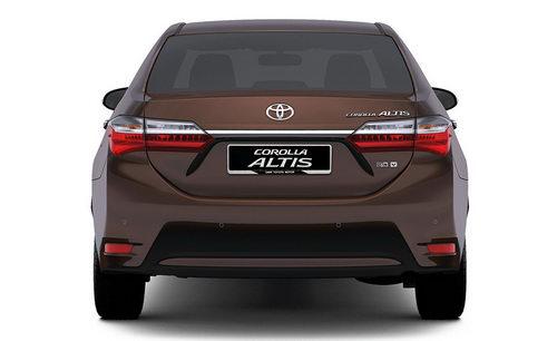 Chi tiết Toyota Altis mới sắp về Việt Nam - 2