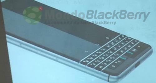 BlackBerry sắp trình làng smartphone với bàn phím vật lý - 1