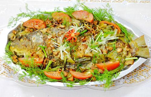 Ngon cơm với cá chép om dưa - 9
