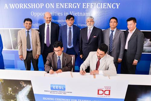 Lễ ký kết thoả thuận hợp tác sử dụng các dịch vụ tiết kiệm năng lượng hiệu quả - 1