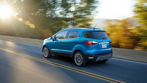 Ford EcoSport 2018 lộ diện, đẹp mắt và hiện đại hơn - 3